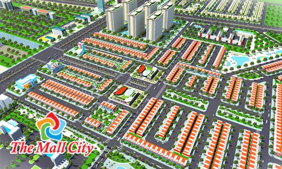 Khu đô thị thương mại dịch vụ The Mall City - Thương gia hội tụ