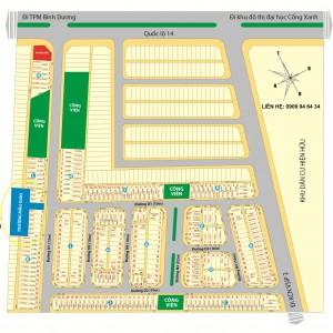 Cần sang nhượng lô đất 1143m2 xây trường mẫu giáo ngay tại KĐT giáp KCN VSIP2 và Thành Phố Mới. Liên hệ: 0909.94.64.34
