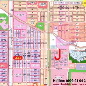 Bán gấp lô J33 Mỹ Phước 3 giá 2tr3/m2, lô J33 hướng Bắc dân cư đông, giá siêu rẻ. Liên hệ: 0909.94.64.34