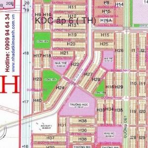 Bán lô H38 Đường NH15, Mỹ Phước 3, Bình Dương, gần TTHC, trường học, chợ, chính chủ bán giá rẻ, sổ hồng riêng