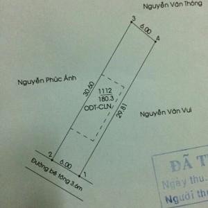 Đất nền đường DX 074 ra Quốc lộ 13 199m giá rẻ, có thổ cư, phường Định Hòa, thành phố Thủ Dầu Một