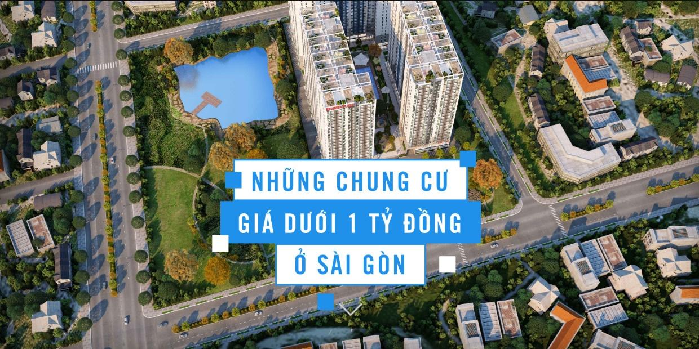 Những chung cư giá dưới 1 tỷ ở Sài Gòn