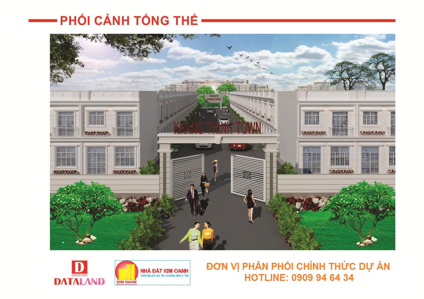 Biệt thự mini Khang Thịnh Town
