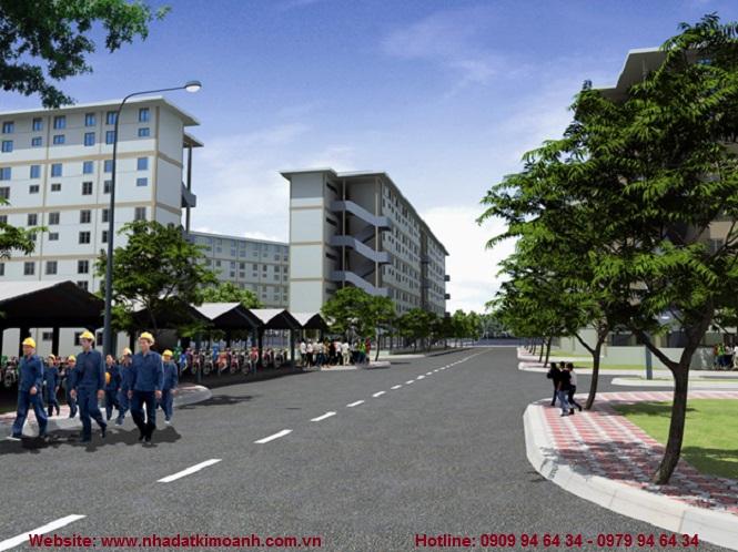 Nhà ở xã hội Viet Sing - Nhà ở đô thị Becamex khu Viet Sing