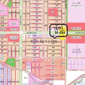 Bán Nhanh Lô i46 Khu TTTM, TTHC, đối diện ngay công ty xí nghiệp